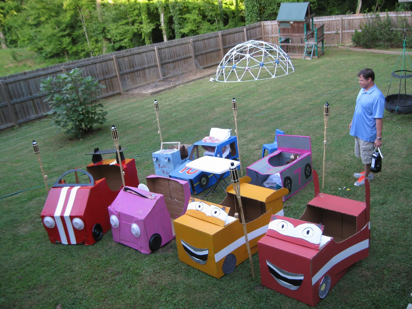Drive-in for kids