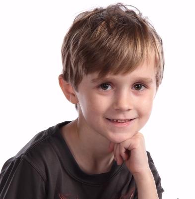 Spring 2018 school pic Kinder age 6
